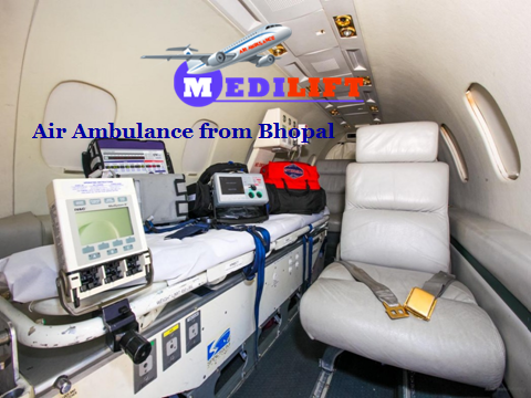 Air Ambulance from Bhopal