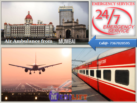Air Ambulance from Mumbai