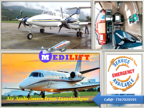 Air Ambulance from Jamshedpur