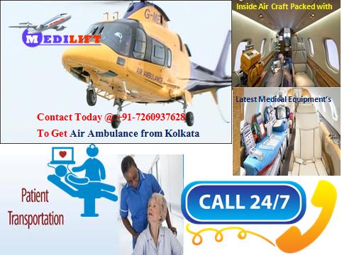 Air Ambulance in Kolkata